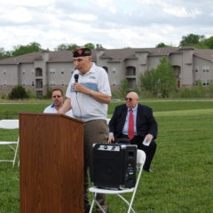 Norm Combs, Speaking at the Legacy Plaza Tribute Fundraising Kick-off